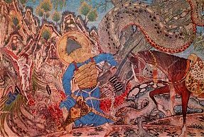 Bahram Gur's Battle with the Dragon
