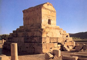 Tomb of Cyrus t he Great
