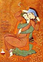 Painting by Riza 'Abbasi, Isfahan, 1630