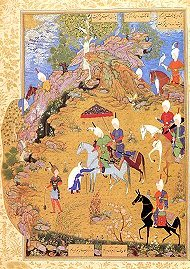 Miniature attributed to Sultan Muhammad, Safavid, Tabriz
