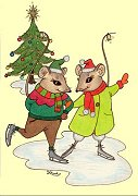 Mouse Capers (Christmas)